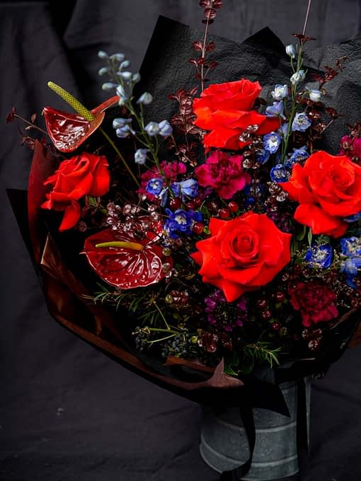 rustic evening bouquet