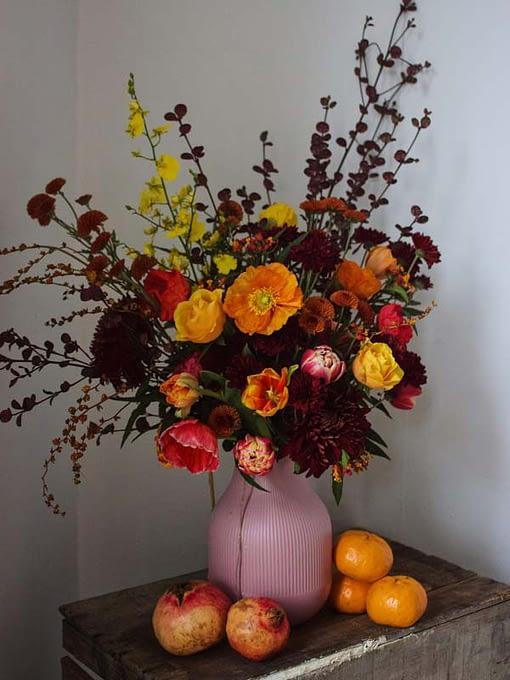 autumnal tone bouquet